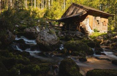 Vom Bluntautal aus rauf zum Tristkopf im Hagengebirge